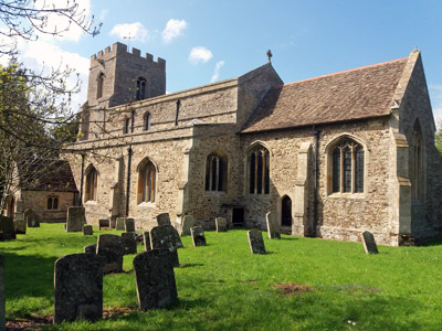 Great Paxton, Holy Trinity Church